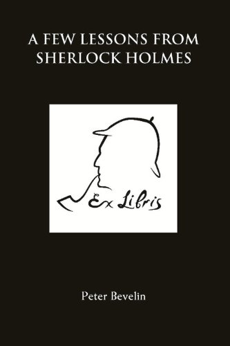 A Few Lessons from Sherlock Holmes